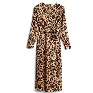 Katie Sturino, Arnette Pleated Dress- New W Tags